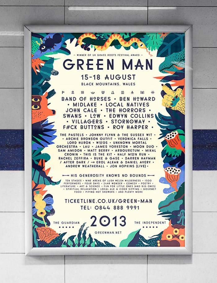 green-man-poster