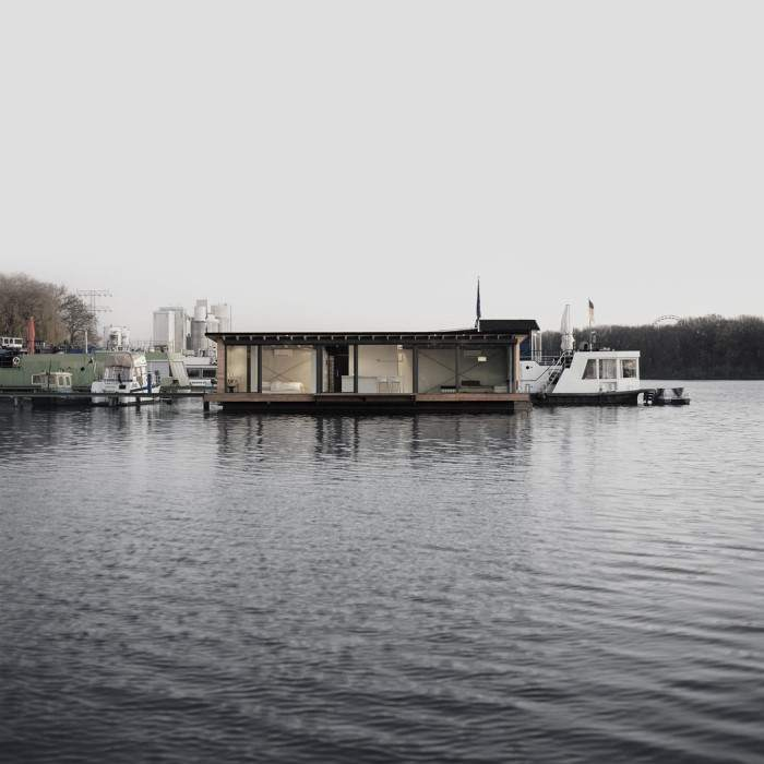 1-WelcomeBeyond-ModernHouseboat