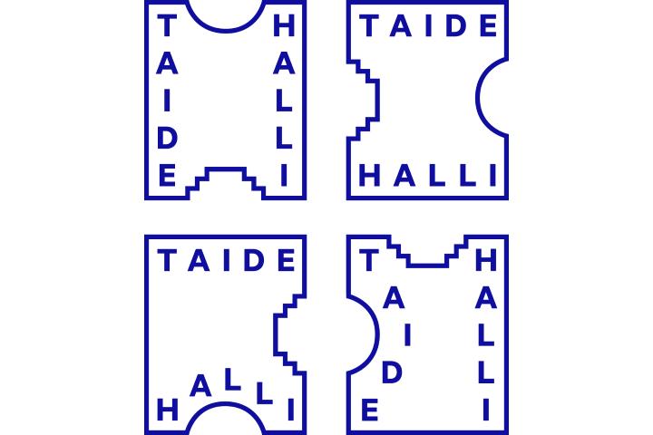 taidehalli-logo-variations
